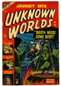 Golden Age (1938-1955):Horror, Journey Into Unknown Worlds #18 (Atlas, 1953) Condition: VG+....