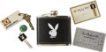 Movie/TV Memorabilia:Memorabilia, Glenn Ford's Playboy Club Keys and Membership Cards.... (Total: 5Items)