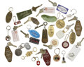 Movie/TV Memorabilia:Memorabilia, Glenn Ford Owned Keys and Keychains.... (Total: 28 Items)