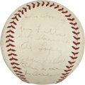 Autographs:Baseballs, 1940 Boston Bees Team Signed Baseball....