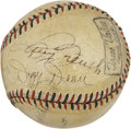 Autographs:Baseballs, 1938 Chicago Cubs Team Signed Baseball....