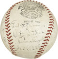 Autographs:Baseballs, 1936 New York Giants Team Signed Baseball....