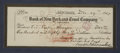 "Autographs:U.S. Presidents, Franklin D. Roosevelt: Bank Check Signed as President of theGeorgia Warm Springs Foundation.. -December 29, 1927. 8.25"" x 3..."