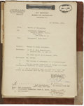Military & Patriotic:WWI, Complete Archive of Personnel Records, 1913-1934, For a AnnapolisGraduate and Naval Officer.. -With documents dating from 1...