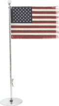 "Political:3D & Other Display (1896-present), Franklin D. Roosevelt: Flagpole Gift to Harry L. Hopkins.. -January 30, 1942. 13""H. . -Minor tarnishing and wear, else fine...."