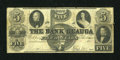 Obsoletes By State:Ohio, Painesville, OH- Bank of Geauga $5 Aug. 4, 1858. ...