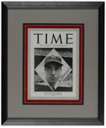 "Autographs:Others, 1948 ""Time"" Magazine Signed by Joe DiMaggio. Dating from October1948, this exceptionally preserved issue of Time magaz..."