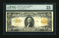 Large Size:Gold Certificates, Fr. 1187 $20 1922 Gold Certificate Very Fine. This $20 Gold has nice color for the grade....