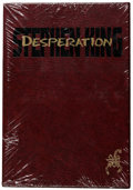 "Books:Fine Press and Limited Editions, ""Desperation"" Stephen King Hardcover Slipcase Gift Edition (Grant,1996)...."