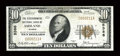 National Bank Notes:Kansas, Ashland, KS - $10 1929 Ty. 1 The Stockgrowers NB Ch. # 5386. While this piece faces up quite nicely, there are several n...