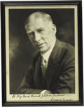 Autographs:Photos, Circa 1950 Connie Mack Signed Photograph. The longest serving manager in baseball history offers a wonderfully bold black i...