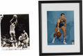 """Autographs:Photos, Golden State Warriors Legends Signed Photographs Lot of 2. Two of """"The City's"""" finest represented here with the Golden St. W..."""