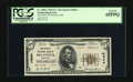 National Bank Notes:Maryland, Brunswick, MD - $5 1929 Ty. 2 The Peoples NB Ch. # 14044. This is awell centered note certified as PCGS Gem New 65PP...