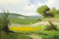Texas:Early Texas Art - Regionalists, JERRY RUTHVEN (American, b. 1947). Golden Meadow, 1977. Oilon canvas. 24 x 36 inches (61.0 x 91.4 cm). Signed and dated...