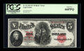 Large Size:Legal Tender Notes, Fr. 92 $5 1907 Legal Tender PCGS Gem New 66PPQ....