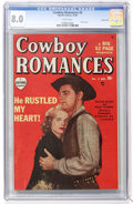 Golden Age (1938-1955):Romance, Cowboy Romances #2 Carson City pedigree (Marvel, 1949) CGC VF 8.0White pages....