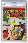 Golden Age (1938-1955):Horror, Forbidden Worlds #8 (ACG, 1952) CGC VF+ 8.5 Off-white pages....