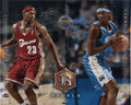 Autographs:Photos, LeBron James and Carmelo Anthony Dual-Signed Photograph....