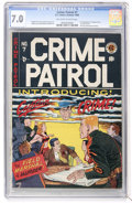 Golden Age (1938-1955):Crime, Crime Patrol #7 (EC, 1948) CGC FN/VF 7.0 Off-white to white pages....