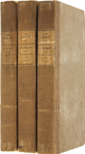Books:First Editions, Sir Walter Scott. The Abbot. By the Author of Waverly.Edinburgh: Longman, Hurst, et. al, 1820....