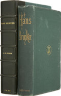 Books:First Editions, Mary Mapes Dodge. Hans Brinker; or, the Silver Skates. A Storyof Life in Holland. New York: James O'Kane, 1866....