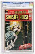 Bronze Age (1970-1979):Horror, Secrets of Sinister House #5 (DC, 1972) CGC VF 8.0 Off-whitepages....