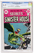 Bronze Age (1970-1979):Horror, Secrets of Sinister House #7 (DC, 1972) CGC FN 6.0 White pages....