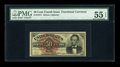 Fractional Currency:Fourth Issue, Fr. 1374 50c Fourth Issue Lincoln PMG About Uncirculated 55 EPQ....
