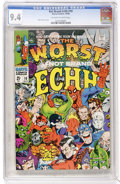 Silver Age (1956-1969):Humor, Not Brand Echh #10 (Marvel, 1968) CGC NM 9.4 Off-white to whitepages....