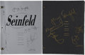 Movie/TV Memorabilia:Autographs and Signed Items, Seinfeld Cast-Signed Series Finale Script.... (Total: 2Items)