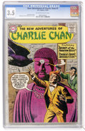 Silver Age (1956-1969):Mystery, The New Adventures of Charlie Chan #1 (DC, 1958) CGC VG- 3.5Off-white to white pages....