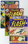 Bronze Age (1970-1979):Superhero, The Flash Group (DC, 1974-80) Condition: VF+.... (Total: 33 Comic Books)