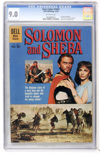 Four Color #1070 Solomon and Sheba (Dell, 1959) CGC VF/NM 9.0 Off-white pages