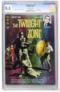 Silver Age (1956-1969):Horror, Twilight Zone #7 (Gold Key, 1964) CGC VF+ 8.5 Off-white pages....