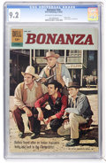 Silver Age (1956-1969):Western, Bonanza #01-070-210 (Dell, 1962) CGC NM- 9.2 Off-white to whitepages....