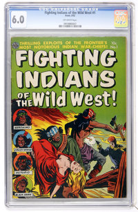 Fighting Indians of the Wild West! #1 (Avon, 1952) CGC FN 6.0 Off-white pages