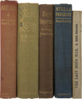 Books:First Editions, Lot of Five First Editions by H. Rider Haggard Books.... (Total: 5Items)