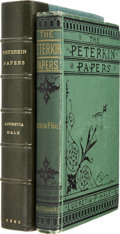 Books:First Editions, Lucretia Hale. The Peterkin Papers. Boston: James R. Osgoodand Company, 1880....