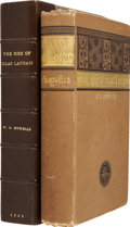 Books:First Editions, William D. Howells. The Rise of Silas Lapham. Boston:Ticknor and Company, 1885....