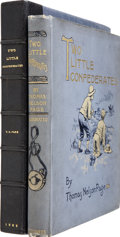 Books:Signed Editions, Thomas Nelson Page. Two Little Confederates. New York: Charles Scribner's Sons, 1888.. ...