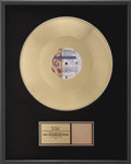 "Music Memorabilia:Awards, Prince and The New Power Generation ""7"" RIAA Gold Single Award...."
