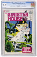 Bronze Age (1970-1979):Horror, Sinister House of Secret Love #4 (DC, 1972) CGC VF+ 8.5 Off-whitepages....