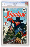 Bronze Age (1970-1979):Miscellaneous, The Shadow #1 (DC, 1973) CGC NM- 9.2 Off-white pages....