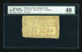 Colonial Notes:Pennsylvania, Pennsylvania April 10, 1777 6s PMG Extremely Fine 40....