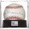 Autographs:Baseballs, Happy Chandler Single Signed Baseball, PSA NM-MT+ 8.5....
