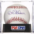 Autographs:Baseballs, Bob Gibson Single Signed Baseball, PSA Mint+ 9.5. ...