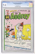 Bronze Age (1970-1979):Humor, Playful Little Audrey #121 File Copy (Harvey, 1976) CGC NM+ 9.6Off-white to white pages....
