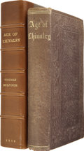 Books:First Editions, Thomas Bulfinch. The Age of Chivalry. Boston: Crosby,Nichols and Company, 1859....