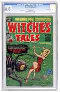 Golden Age (1938-1955):Horror, Witches Tales #12 File Copy (Harvey, 1952) CGC FN 6.0 Slightlybrittle pages....