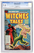 Golden Age (1938-1955):Horror, Witches Tales #10 File Copy (Harvey, 1952) CGC FN/VF 7.0 Cream tooff-white pages....